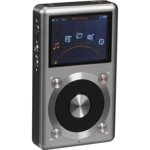FiiO X3 (2nd Gen) Portable High Resolution Audio Player (Titanium)