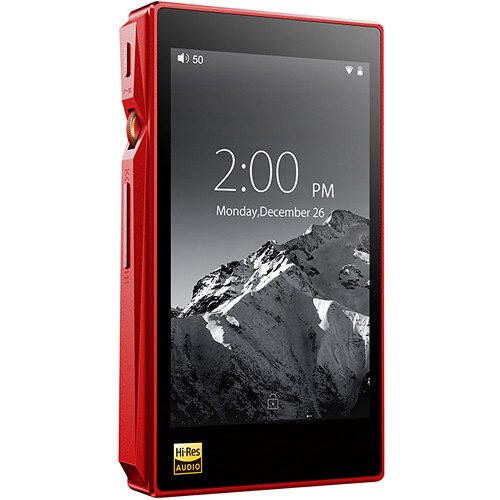 FiiO X5 (3rd Gen) Portable High-Resolution Audio Player (Red)