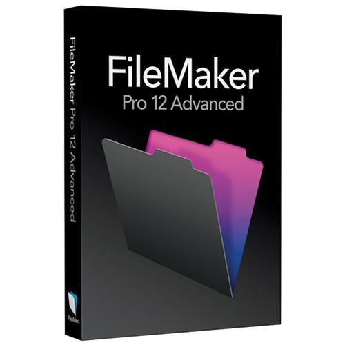 FileMaker FileMaker Pro 12 Advanced (English, Upgrade)