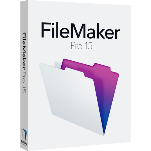 FileMaker Pro 15 (Upgrade Edition)