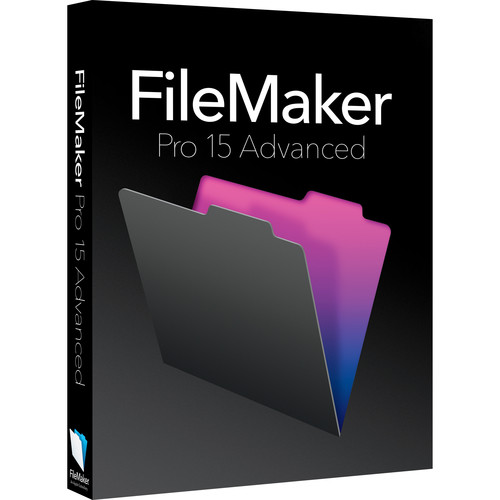 FileMaker Pro 15 Advanced (Education & Non-Profit Edition)
