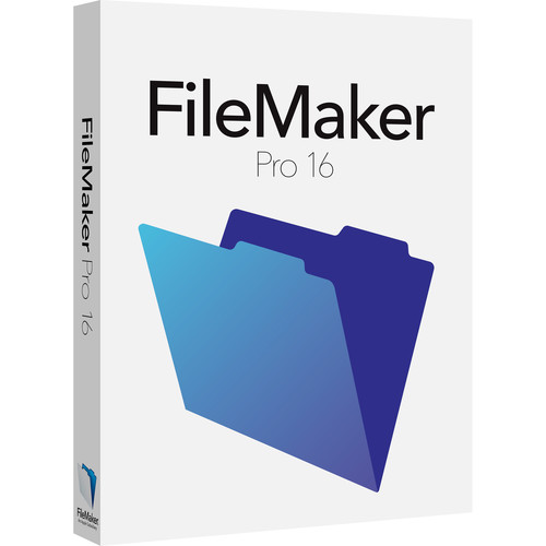 FileMaker Pro 16 Education & Non-Profit Edition