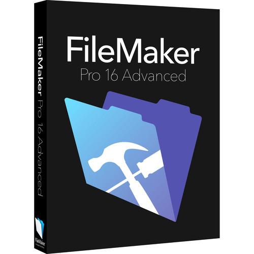 FileMaker Pro 16 Advanced (Education & Non-Profit Edition, Boxed)