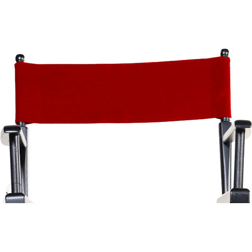 Filmcraft Canvas Set for Director & Studio Chairs (Red)
