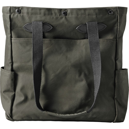 Filson Co McCurry Tote (Otter Green, Magnum Black)