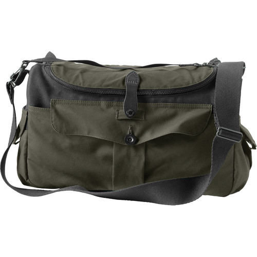 Filson Co McCurry Sportsman Bag (Otter Green, Magnum Black)