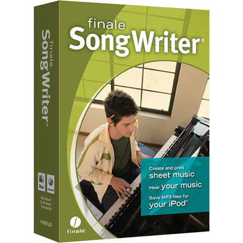 MakeMusic Finale SongWriter - Music Writing Software (Download)