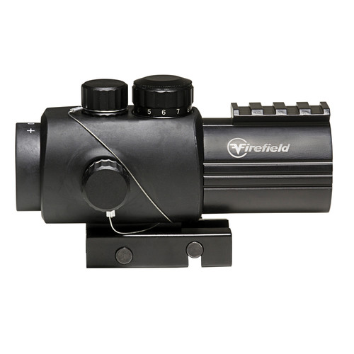 Firefield 3x30 Prismatic Sight with Red-Black Circle Dot Reticle