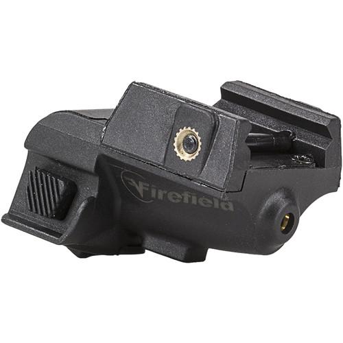Firefield Subcompact Green Pistol Laser (Matte Black)