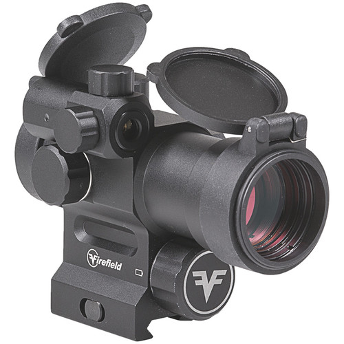 Firefield 1x30 Impulse Red Dot Sight with Red Laser (3 MOA Red Dot Illuminated Reticle, Matte Black)