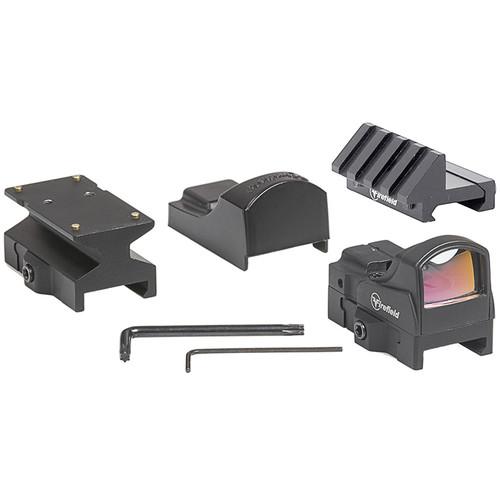 Firefield Impact Mini Reflex Sight Kit (5 MOA Red-Dot Illuminated Reticle, Matte Black)
