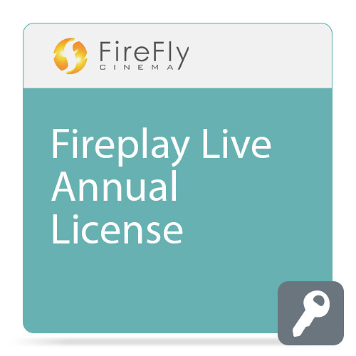 FireFly Cinema FirePlay Live (Annual License, Download)