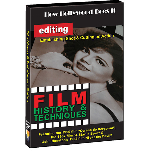 First Light Video DVD: How Hollywood Does It: Techniques of Editing