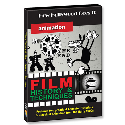 First Light Video DVD: How Hollywood Does It: Techniques of Animation