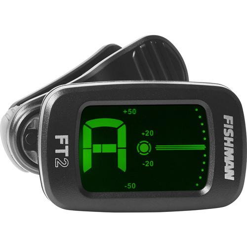 Fishman FT-2 Flip On Digital Headstock Instrument Tuner