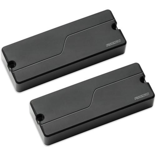 Fishman Fluence Bass Soapbar Pickup Set for 5-String Electric Bass (Black Plastic)