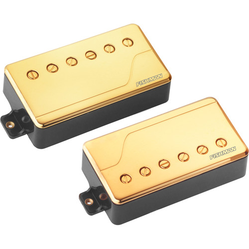 Fishman Fluence Classic Humbucker Neck & Bridge Pickup Set (Gold)