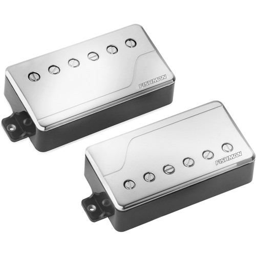 Fishman Fluence Classic Humbucker Neck & Bridge Pickup Set (Nickel)