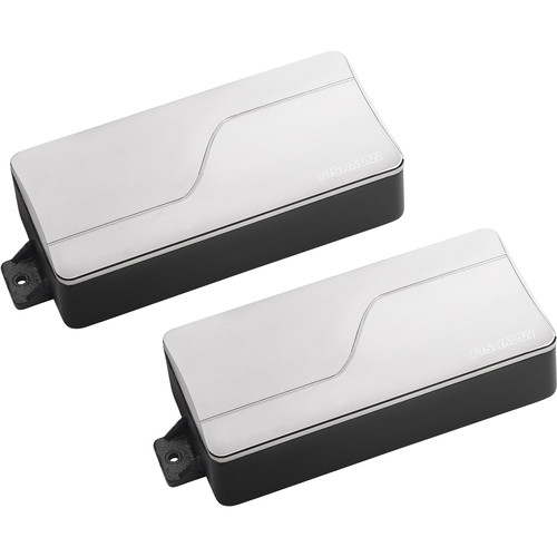 Fishman Fluence Modern Alnico & Ceramic Humbucker Pickup Set for 7-String Guitar (Nickel)