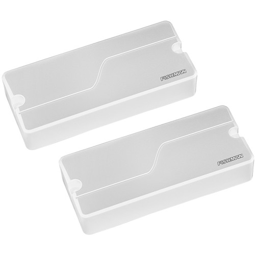 Fishman Fluence Modern Alnico & Ceramic Humbucker Pickup Set for 7-String Guitar (White Plastic)