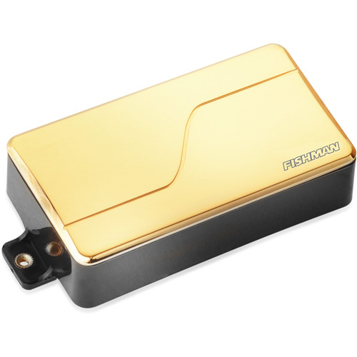 Fishman Fluence Modern Ceramic Humbucker Pickup for 6-String Guitar (Gold)