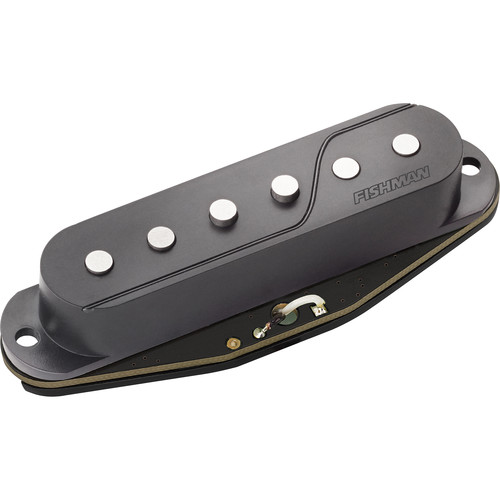 Fishman Fluence Single Width Passive Pickup for Strat (Black)