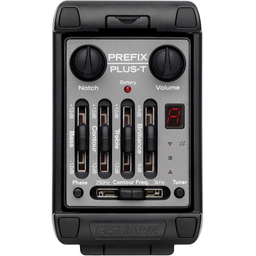 Fishman Prefix Plus-T Onboard Preamp System for Acoustic Instruments (Narrow Format)
