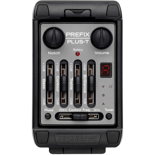 Fishman Prefix Plus-T Onboard Preamp System for Acoustic Instruments (Wide Format)
