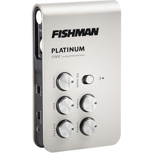fishman platinum stage eq analog preamp and di pro plt 301 b h. Black Bedroom Furniture Sets. Home Design Ideas