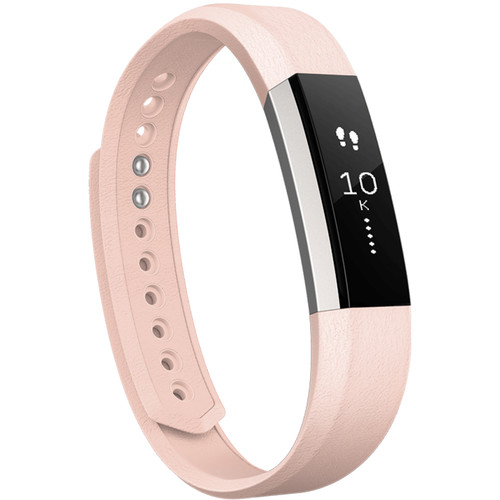 Fitbit Alta Leather Band (Large, Blush Pink)