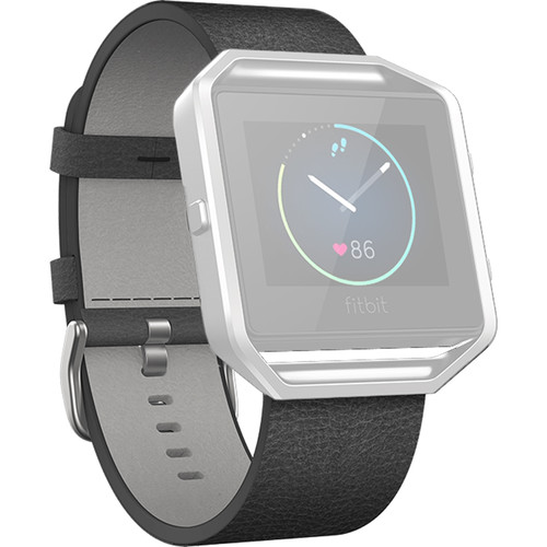 Fitbit Blaze Leather Band (Large, Black)