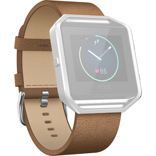 Fitbit Blaze Leather Band (Large, Camel)