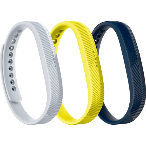 Fitbit 3-Pack of Classic Bands for Fitbit Flex 2 (Small, Sport Pack)