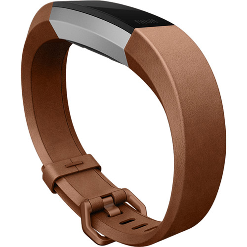 Fitbit Leather Band for Alta HR (Large, Brown)