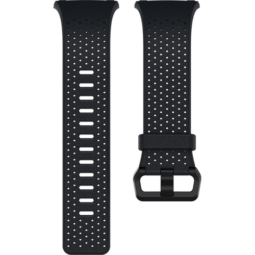 Fitbit Perforated Leather Band for Ionic Watch (Large, Midnight Blue)