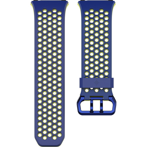Fitbit Sport Band for Ionic Watch (Small, Cobalt/Lime)