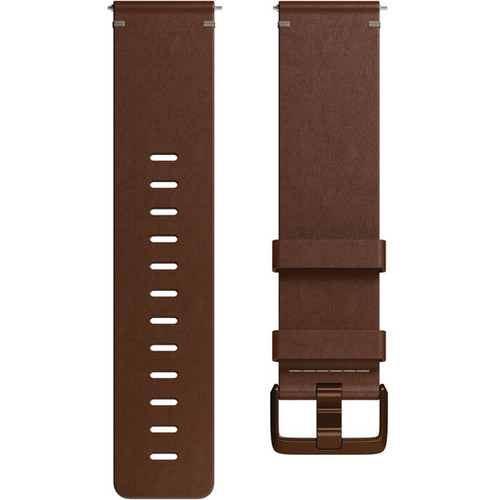 Fitbit Leather Band for Versa Smartwatch (Large, Cognac)