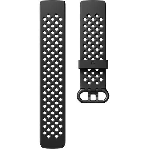 Fitbit Charge 3 Access Sport Band (Small, Black)