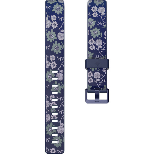 Fitbit Print Band for Inspire & Inspire HR Fitness Trackers (Large, Bloom)