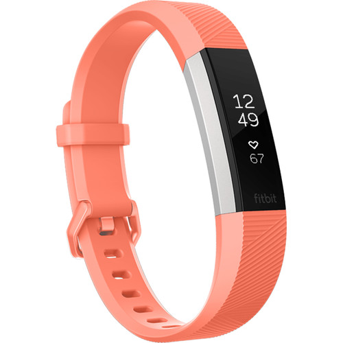 Fitbit Alta HR Activity Tracker (Small, Coral)