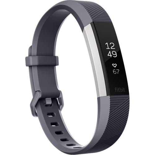Fitbit Alta HR Activity Tracker (Small, Blue Gray)