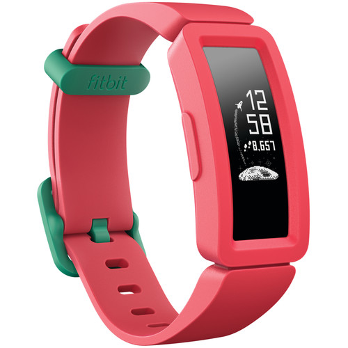 Fitbit Ace 2 Kids Activity Tracker (Watermelon/Teal)