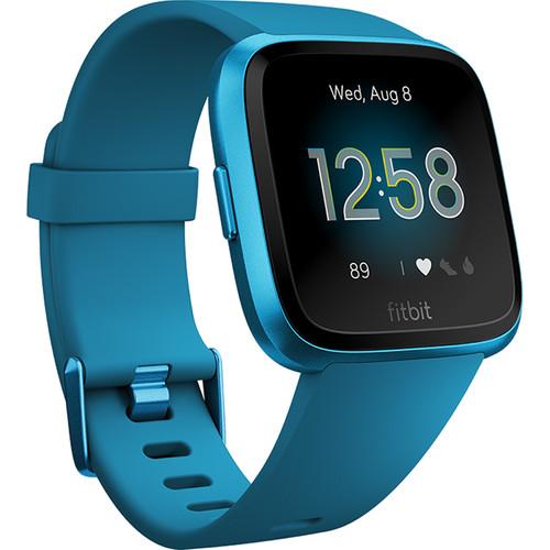 Fitbit Versa Lite Edition Smartwatch (Marina Blue)