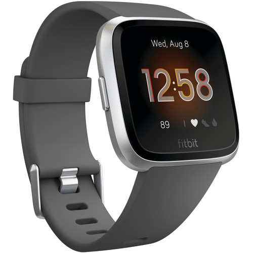 Fitbit Versa Lite Edition Smartwatch (Charcoal)
