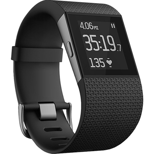 Fitbit Surge Fitness Superwatch w/Heart Rate Monitor