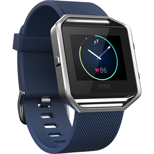 Fitbit Blaze Fitness Watch (Small, Blue)