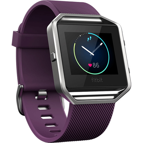 Fitbit Blaze Fitness Watch (Small, Plum)
