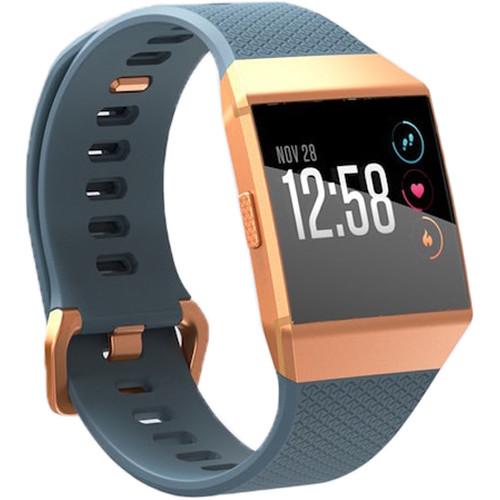 Fitbit Ionic Fitness Watch (Slate Blue/Burnt Orange)