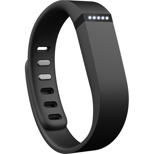 Fitbit Flex Activity + Sleep Wristband with Aria Wi-Fi Smart Scale Kit (Black)