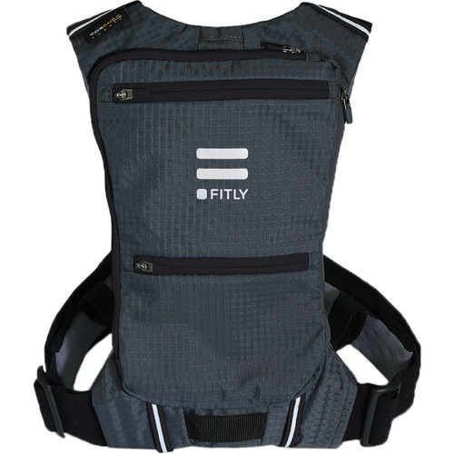 FITLY Innovative Running Pack (M/L/XL, Black)
